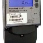 Счетчик электроэнергии однофазный многотарифный Меркурий 203.2Т