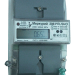 Счетчик электроэнергии однофазный многотарифный Меркурий 206