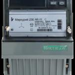 Счетчик электроэнергии трёхфазный однотарифный Меркурий 230 AR